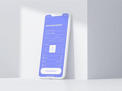 Medicine reminder app form ux design ui design health app medicine pill
