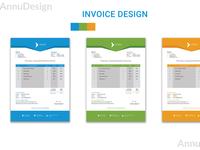 Minimal Invoice Design