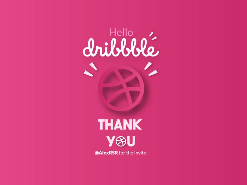 Hello Dribbble web design redesign typography vector text logo branding ux ui logo hello dribble dribbble ball
