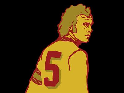 Beckenbauer 1974 world cup 1974 deutschland germany 5 illustration beckenbauer soccer football