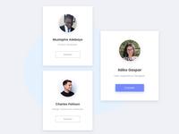 User UI card