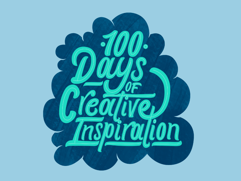 100DaysOfCreativeInspiration lettering type typography 2d vector affinity hand-drawn