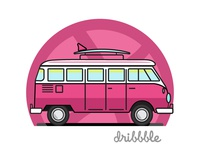 Let's take a ride Dribbble!