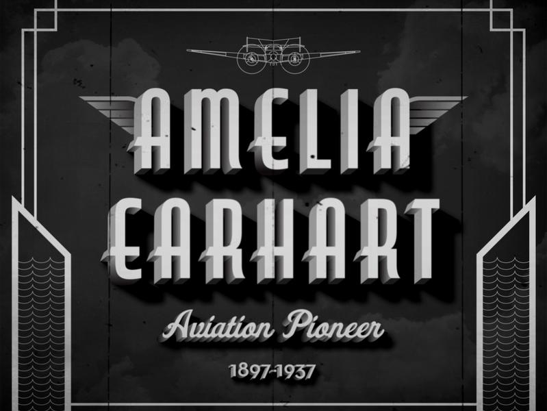 Amelia Earhart herstory womanempowerment 1920s girlpower pioneer aviation woman design history amelia earhart