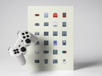 Console Game icon sets