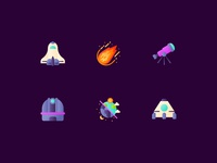 Astronomy astronomy vector illustration ui icon app icon web icon kerismaker icons set interaction icons iconography