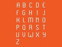 WIP Revolt Typeface caps