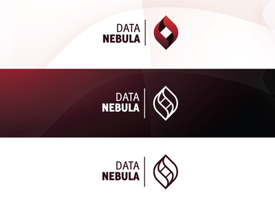Data Nebula vps server cloud red black data nebula