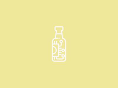 Brewing Circuit Mark hardware yellow logo brewing beer