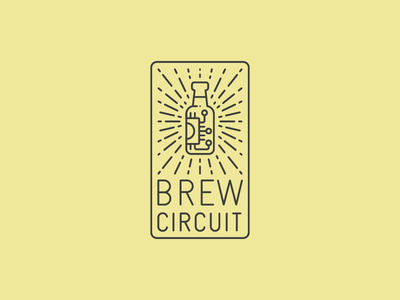 Brew Circuit yellow logo hardware brewing beer