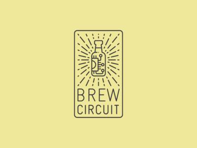 Brew Circuit yellow logo hardware brewing beer