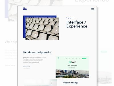 Clean Web for studio design clean design clean web gravit designer figma adobe xd user experience user interface uiux