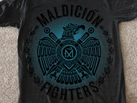 Maldicion Fighters Tee