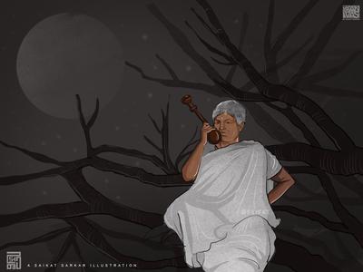 Goynar Baksho magazine design art drawing saikatsarkar16 saikat sarkar illustration graphic  design creative photoshop animation illustration