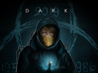 dark dark theme drawing art painting saikatsarkar16 saikat sarkar illustration graphic  design creative illustration photoshop dark mode dark