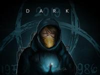 dark dark theme drawing art painting saikatsarkar16 saikat sarkar illustration graphic  design creative illustration photoshop dark mode dark