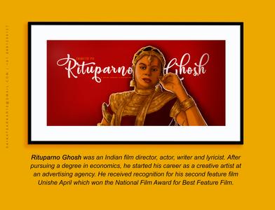 Rituparno Ghosh magazine graphic design india satyajit ray design drawing saikat sarkar painting saikat sarkar illustration photoshop illustration