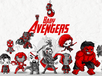Baby Avengers Poster New 1200x630