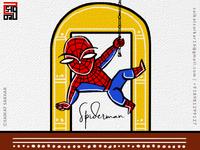 Spiderman Jamini Roy Style For Dribbble