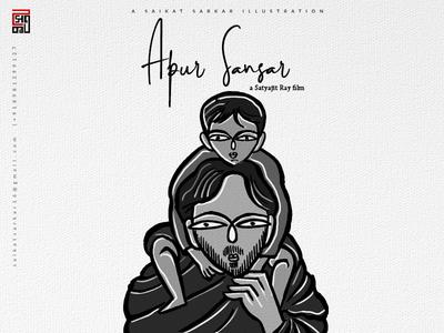 Apur Sansar Poster