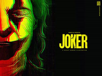 Joker dc dc comics joker art joker drawing saikat sarkar art saikatsarkar16 saikat sarkar illustration graphic  design poster creative illustration photoshop