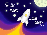 I love you...to the moon and back