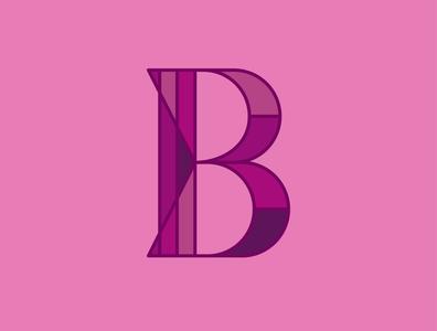 Drop Cap B dropcap b lettering alphabet typography vector design