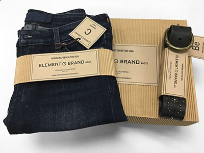 Element Brand Jeans Packaging