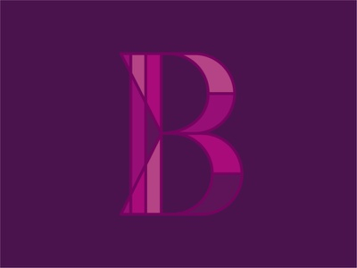 B weekly warm-up dribbble weekly warm-up letterforms geometric letterform basic shapes