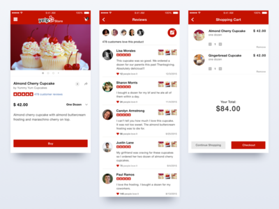 Yelp's E-commerce Concept