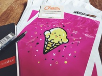 Ice cream cone polymailers 1