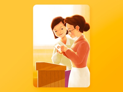 9.10 Teacher's day illustration illustration day teachers