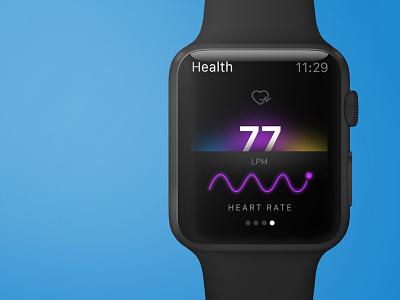 Health Apple Watch App medical health graph mockup app apple watch interaction icon watch ui ux