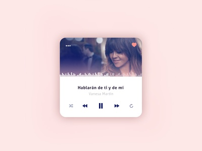 Player widget controls music dailyui player ui ux