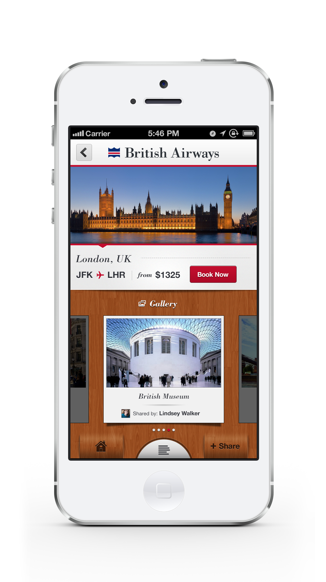 Ba app london city