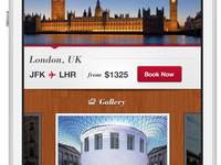 London, UK - Book Now