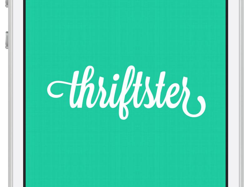 Thriftster Login iphone app login mobile user interface ui facebook product design ios