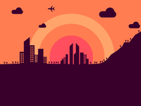 PP2R2: Sunset City
