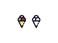 Minimalist Icecream