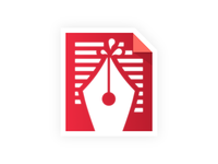 Pen Document Icon
