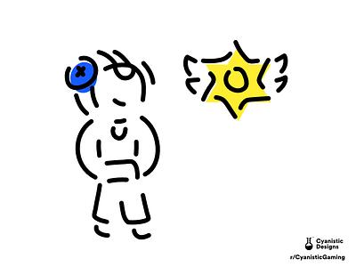 Brawl Stars - Leon illustration line art line fanart brawl stars leon