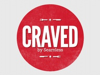 Craved logo for Seamless
