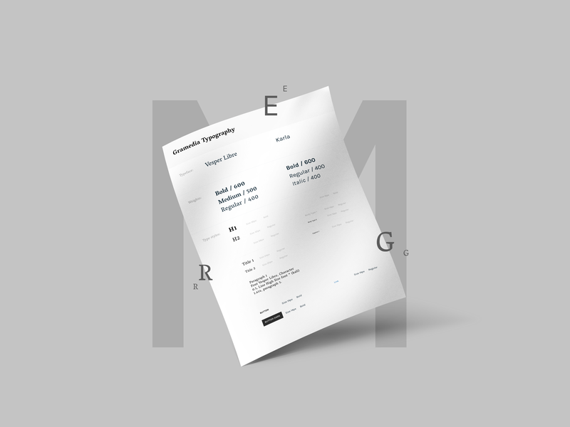 Style Guide (Typography) font design system typogaphy style guide design