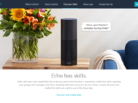 Keith gongora amazon echo product page full