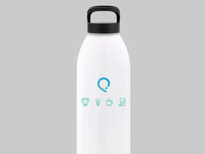 SalesforceIQ Water Bottles