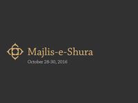 Majlis-e-Shura Cover