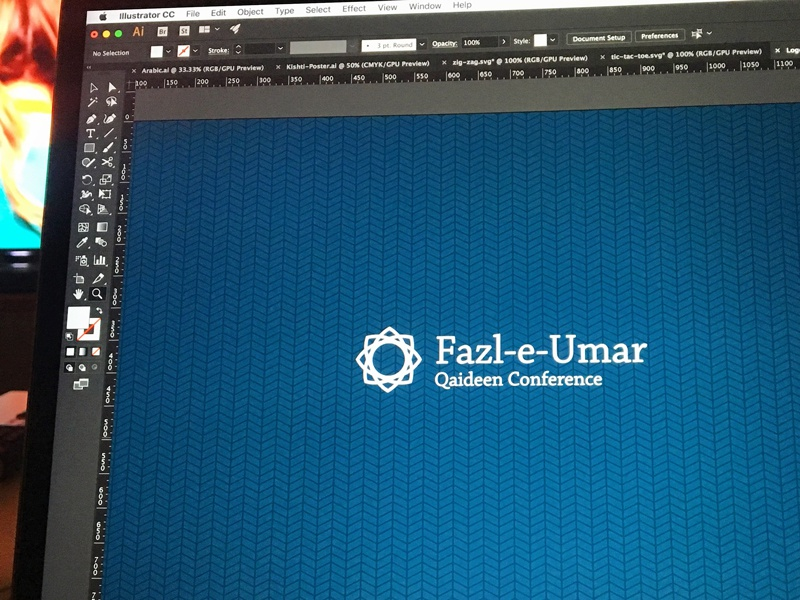 Geometric Logo line pattern arabesque geometric logo