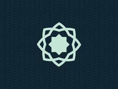Final FQC Logo line logo geometric arabesque