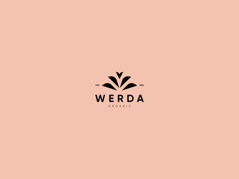 WERDA LOGO DESIGN logo design minimalist flat minimal vector illustration brand design logo
