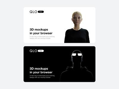 QLO - characters clothing mockups mockup design clothing design cinema4d graphic design illustration blender3d poster design 3d brand identity branding minimalism characters character design